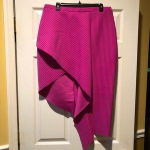 ASOS Asymmetrical textured skirt